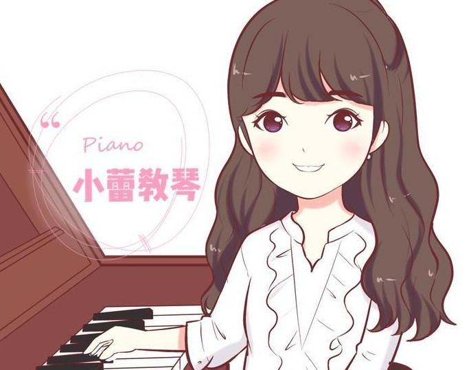 小蕾教琴抖音乐谱视频 每次多贴心分享弹唱的数字简谱