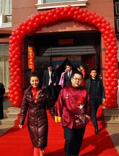 china宝哥老婆照片 china宝哥是曾经的山西首富李兆会吗