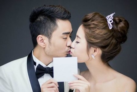 张宁和赵洁结婚照超美  可惜结婚一年就宣布离婚