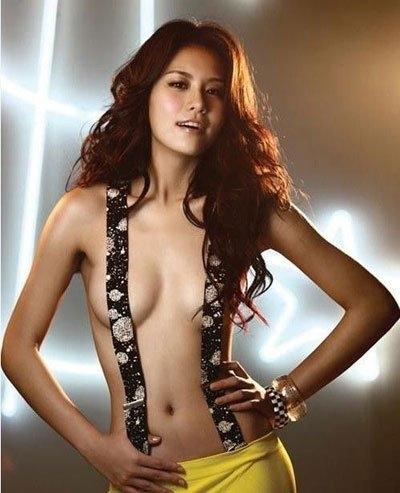 田丽正面裸体艺术   当年的田丽是真的很受关注