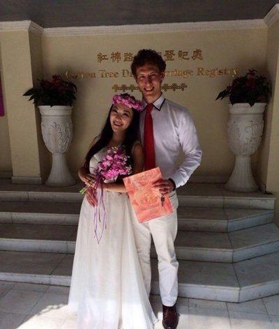 林汉奇骆琦结婚了吗      林汉奇和骆琦以分手告终