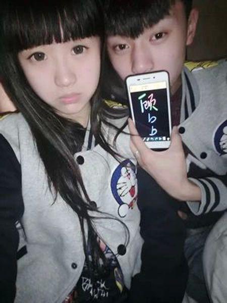 王晨正女朋友杨严简介资料       王晨正和杨严是在网络上认识的