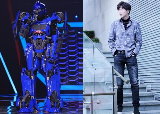 蒙面唱将3机器人登场    他会是摩登兄弟刘宇宁吗