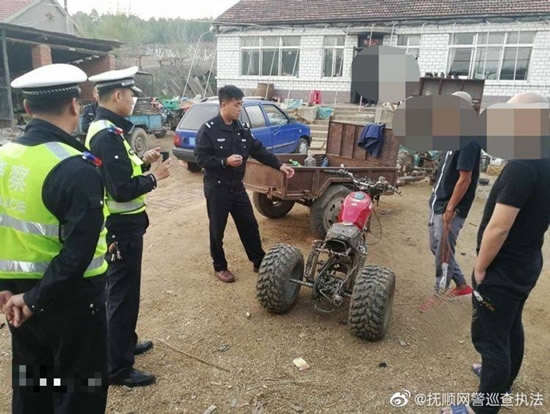 刘杀鸡直播中驾驶拼装车被罚款2000元   车辆已被扣押