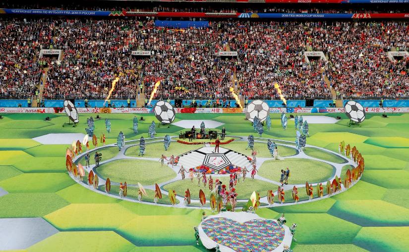 世界杯经典开幕式   没一个都令人回味无穷