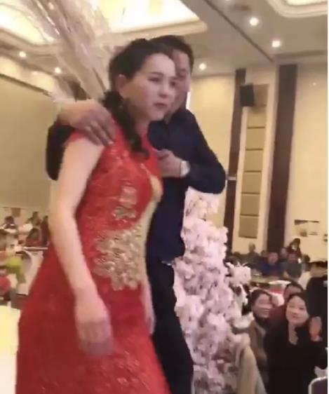 婚礼公公强吻新娘事件是怎么回事  这场闹剧最终如何收场