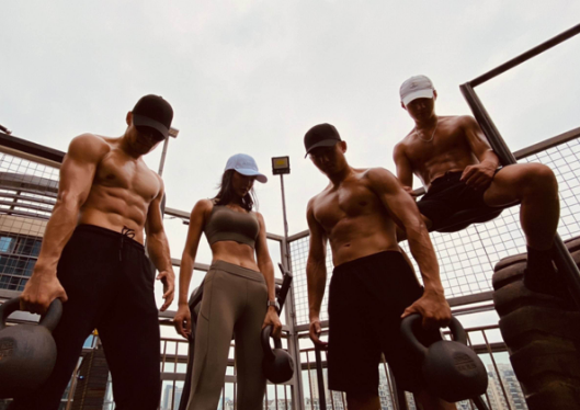 大师兄mb真实身份是干什么的 通过视频传递健身正能量