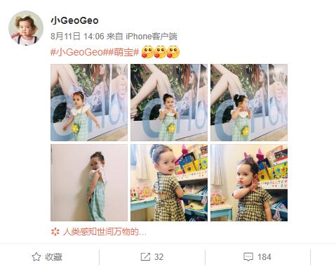 小geogeo是谁  中国和比利时的混血宝宝为何能成为全民宝贝